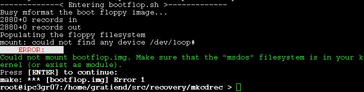 Make CD-ROM Recovery (mkCDrec)
